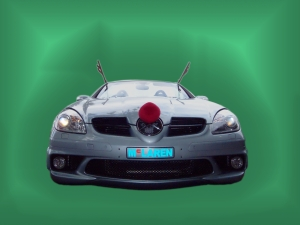 Rudolf the Red Nosed Roadster