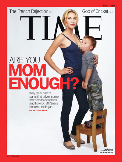time breastfeeding cover Jamie Lynne Grumet